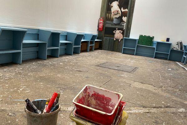 L'atelier historique de l'école Blot au 55 rue Chanzy à Reims a fermé définitivement ses portes. L'école, elle, se réinstallera dans de nouveaux locaux dans quelques mois.