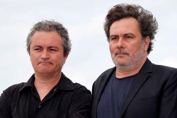 """Arnaud et Jean-Marie Larrieu (ici à Cannes en mai 2018), sont de retrour à Cannes pour présenter leur nouveau film, """"Tralala""""."""