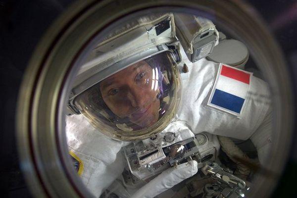 L'astronaute Thomas Pesquet, embarqué à bord de l'ISS depuis novembre 2016, a envoyé un message aux écoliers de Chamalières à la mi-janvier.
