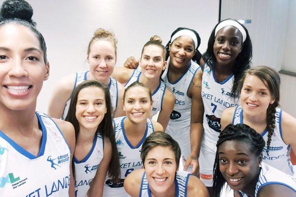 Les joueuses de Basket Landes
