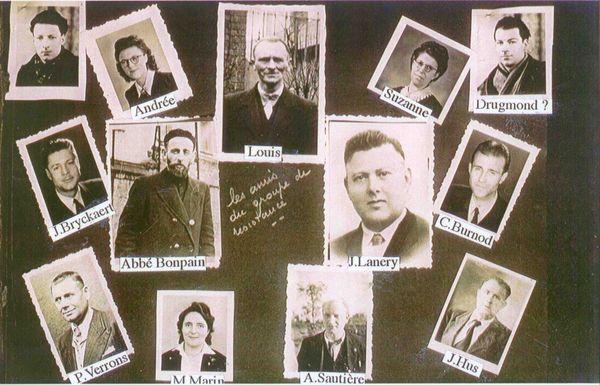Les membres du réseau de résistance Alliance dans le Dunkerquois