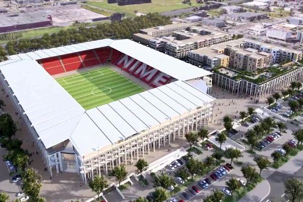 Nîmes : le projet pharaonique stade, hôtel, restaurants, bureaux et logements pour remplacer les Costières en 2026.