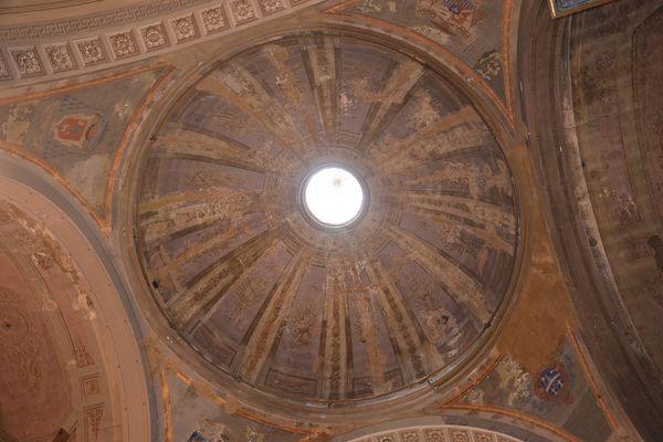 La coupole de l'Eglise Saint-Charles devrait être restaurée.