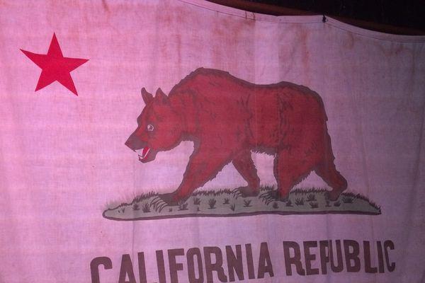 L'ancêtre du drapeau californien