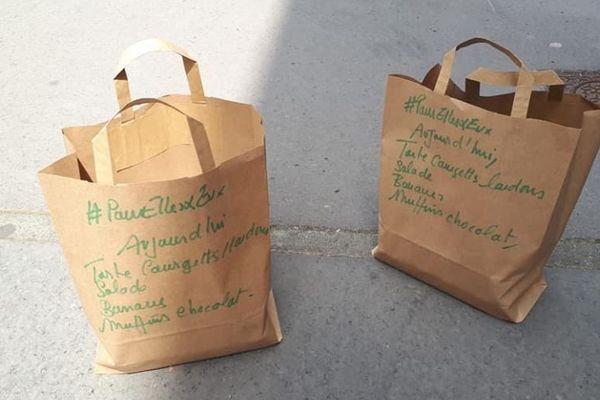Des paniers repas préparés par des particuliers et livrés dans la foulée à des personnes sans abri