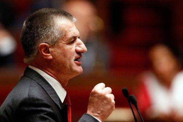 Jean Lassalle, à l'Assemblée Nationale en avril 2014.