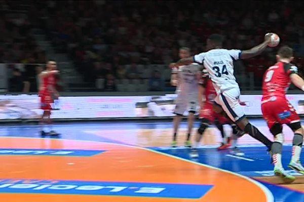 En handball, Caen s'est incliné sur son terrain ce vendredi soir face à Saran
