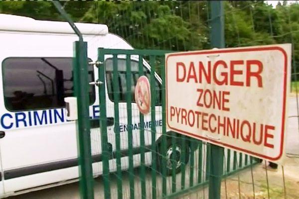 En juin 2016, deux employés de l'artificier Brézac avaient trouvé la mort dans l'explosion de 40 kg d'explosifs