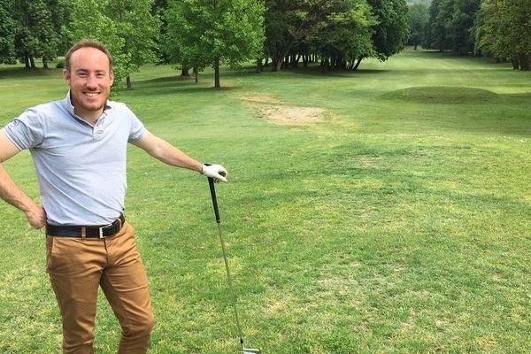 Fabien Mercier, directeur Golf d'Uriage