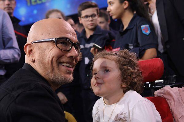 Pascal Obispo, parrain heureux des plus de 85 millions d'euros récoltés lors du Téléthon 2018.