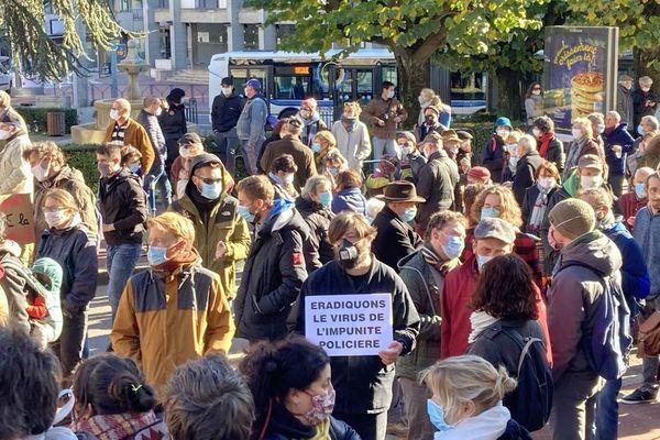 La semaine dernière, 400 personnes s'étaient rassemblées devant la préfecture de Haute-Vienne
