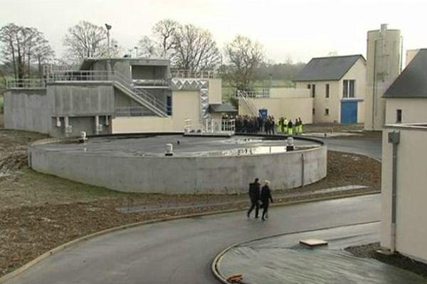 Les travaux d'extension de l'usine de traitement d'eau potable de Saint-Aubin-de Terregatte ont coûté 4,5 millions d'euros
