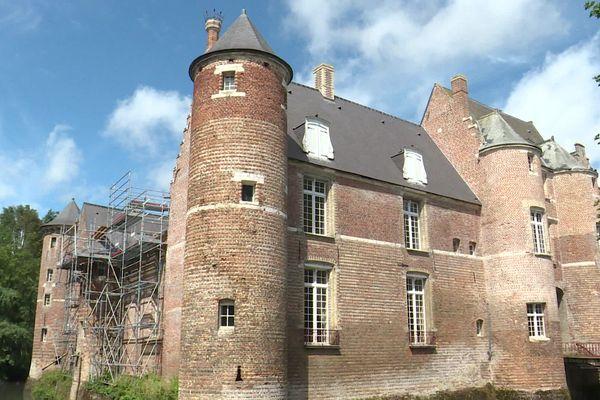 Le château d'Esquelbecq dans le Nord