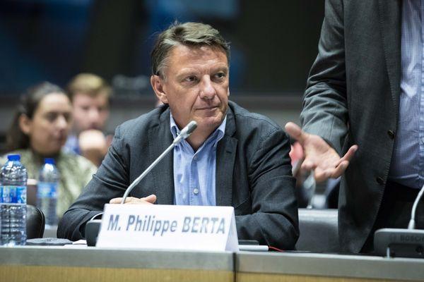 Philippe Berta, député MoDem de la 6e circonscription du Gard, Nîmes-Uzès - 2019.