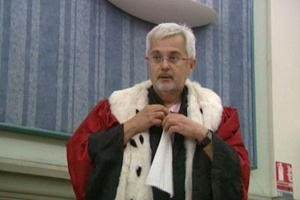 Perpignan - l'avocat général Pierre Denier - 25 octobre 2012.