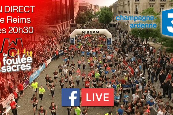 Suivez notre direct dès 20h30 sur notre page www.facebook.com/france3champagneardenne