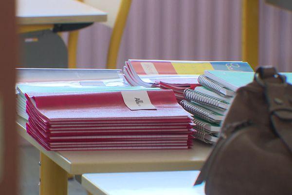 Rentrée scolaire 2020 dans l'académie de Limoges, les cahiers sont prêts, mais encore beaucoup d'interrogations sur les dispositions sanitaires.