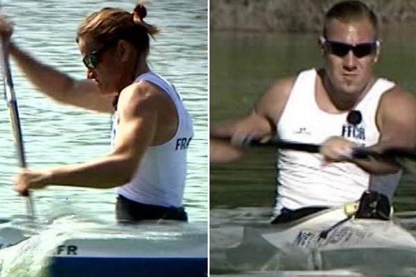Agnès Lacheux et Rémi Boullé participaient aux Jeux paralympiques en paracanoë.