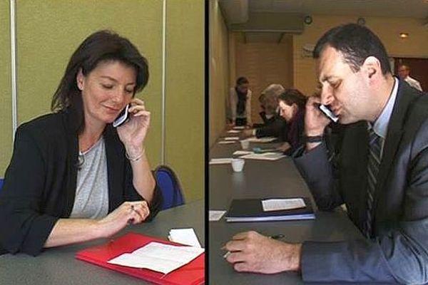 """Montpellier - l'entretien d'embauche moderne devient du """"speed recrutement"""" à l'aveugle - mars 2016."""
