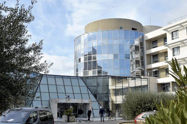 Le CHU de Montpellier, en février 2020.