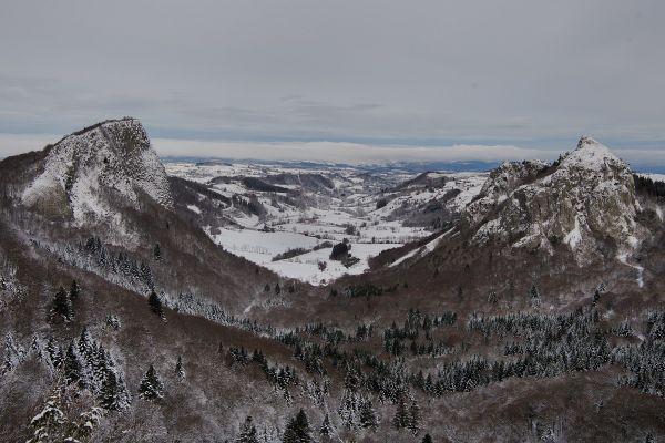 """C'est sur le plateau du Guéry (Puy-de-Dôme) que pourrait être tournée une scène du film """"Astérix et Obélix : l'Empire du Milieu"""" au mois de mai."""