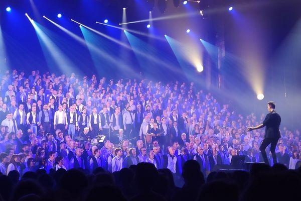 Le Grand choral des Nuits de Champagne 2019 réunit 850 choristes.