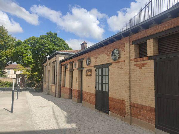 L'ancienne salle d'émaillage des élèves, un lieu où a dû passer Marcel Mangel, alors élève à l'école.