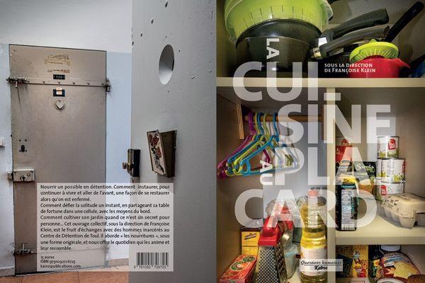 """""""La cuisine au placard"""", un livre collectif écrit avec les détenus de la prison de Toul"""