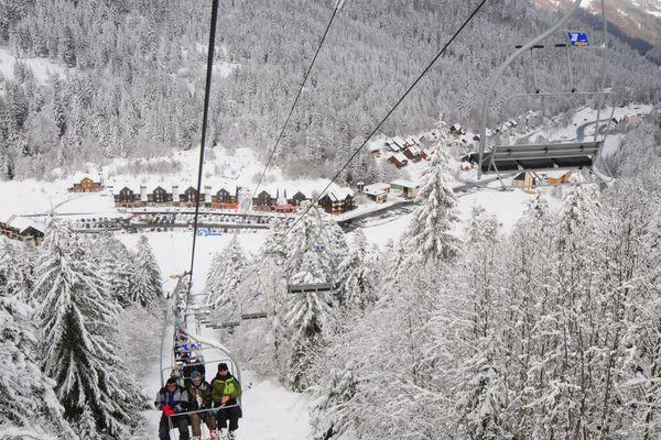 La station de ski du Lioran dans le Cantal