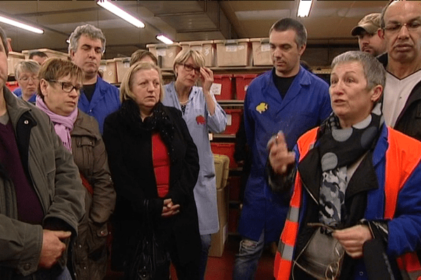 Les salariés de Noël à Vitré, inquiets