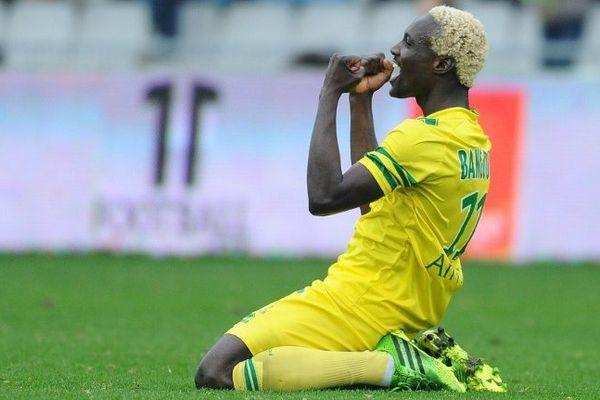 Bangoura le but libérateur la chance d'un revenant pour le FC Nantes
