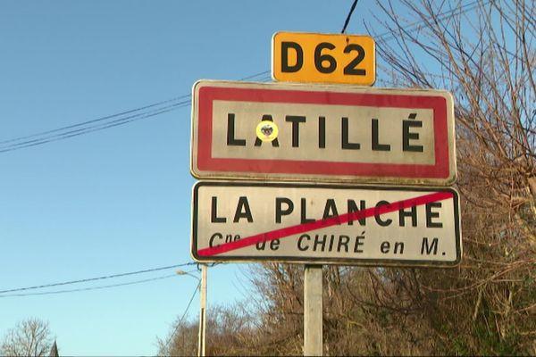 Itinéraire bis à Latillé, dans la Vienne