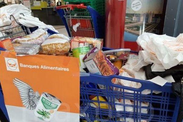collecte annuelle de la banque Alimentaire