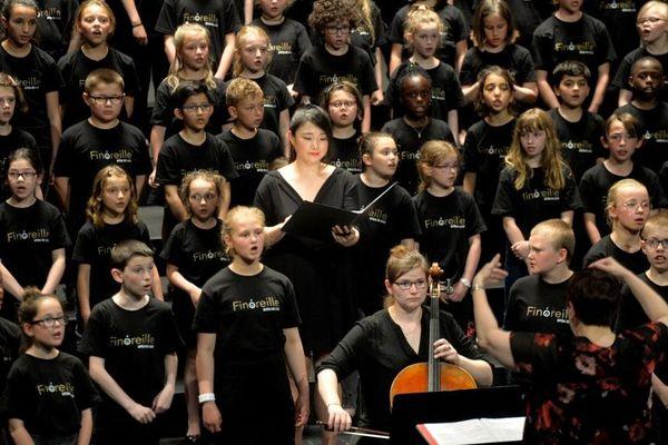 """Les enfants de """"Finoraille"""" à l'Opéra de Lille"""