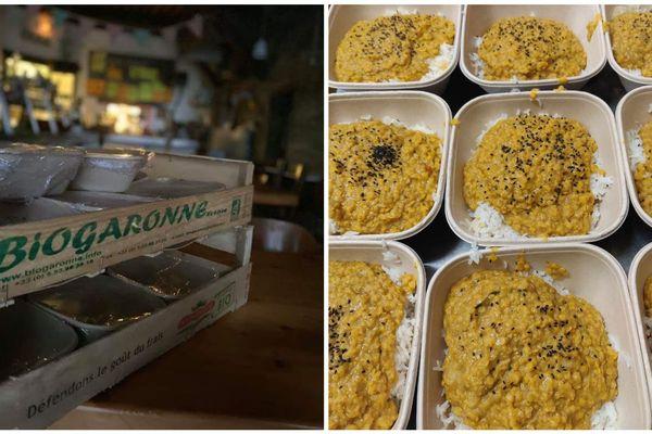 Des commerçants et restaurateurs ont décidé de cuisiner pour les personnes en difficulté durant la crise sanitaire du coronavirus.