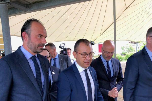 Deuxième jour de délocalisation de Matignon dans le Cher. Edouard Philippe a parlé innovation