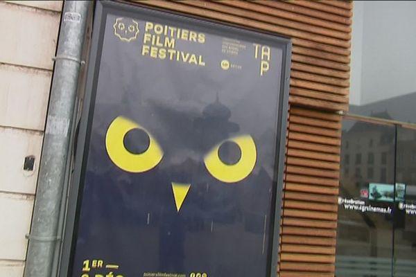 Le Poitiers Film Festival (affiche de l'édition 2017) est le rendez-vous des étudiants issus des plus prestigieuses écoles de cinéma du monde entier.