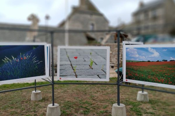 Les photographies exposées au cœur des villages
