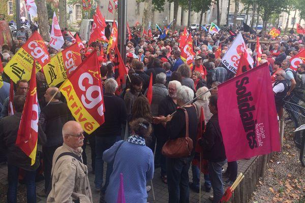 Mobilisation à La Roche-sur-Yon le 12 septembre 2017