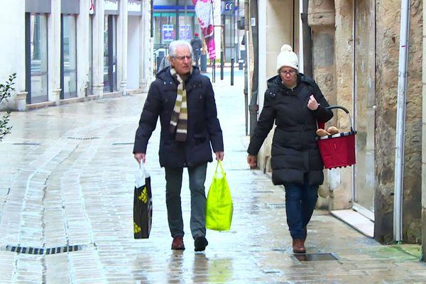 À Périgueux, les soldes d'hiver ont débuté... timidement