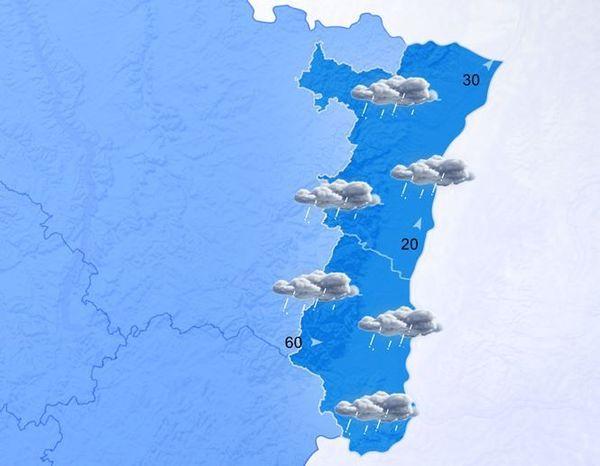 Retour de la pluie et du vent en Alsace