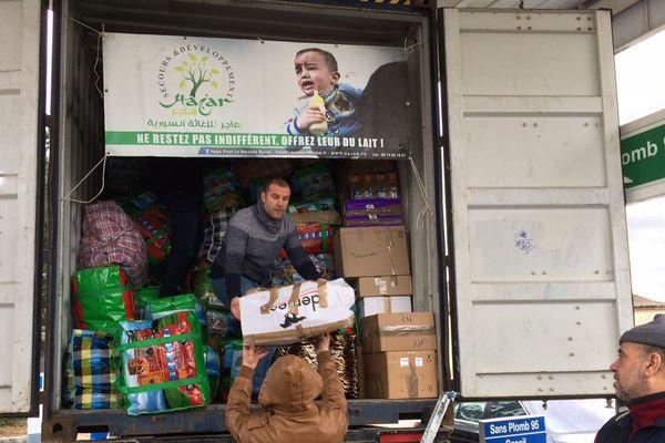 Depuis 4 ans et le début de la guerre en Syrie, une chaine de solidarité a permis d'envoyer une trentaine de conteneurs.