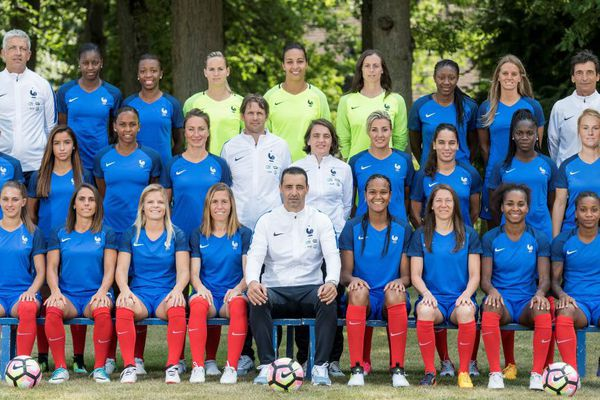 L'équipe de France féminine de football.