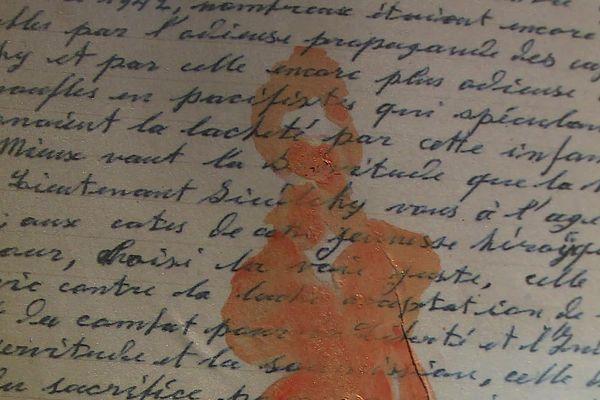 """""""Three Letters. Peinture. Écriture. Résistance."""" fait dialoguer la mémoire de destins."""