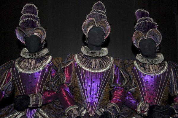 """Les costumes créés par Patrice Cauchetier pour """"Hippolyte & Aricie"""" de Jean Philippe Rameau présenté en 1996 à l'opéra national de Paris."""
