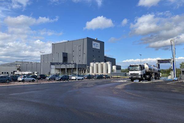 La laiterie d'Isigny-Sainte-Mère transforme notamment du lait en poudre de lait pour le marché chinois
