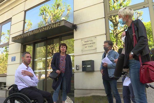 Christophe Caron et son avocate avaient rendez-vous ce matin devant le ministère public