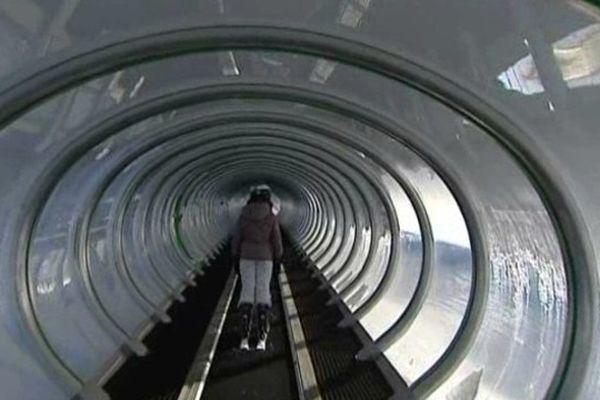 Le nouveau télésiège de la station du Lioran a beaucoup suscité la curiosité des skieurs