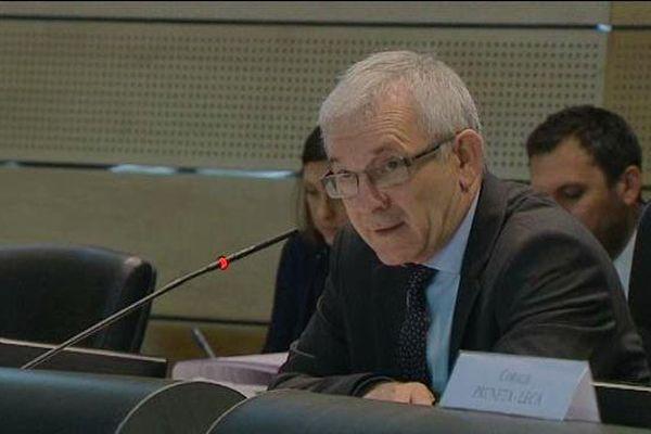 François Orlandi élu président du Conseil départemental de Haute-Corse, le 2 avril 2015