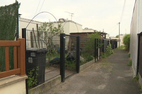 La maison où l'homme s'est retranché à Saint-Ménard-en-Jalles.